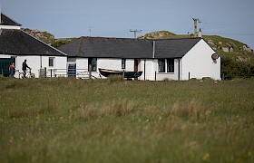 Ross of Mull Bunkhouse from the grounds
