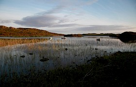 Loch Pottie with boats