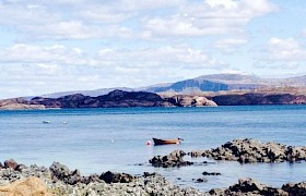 Martyrs Bay overlooking the Sound of Iona