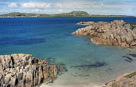 Looking over to Iona from Fionnphort Bay